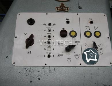 Зубофрезерный вертикальный станок WMW Modul ZFWZ 500x8