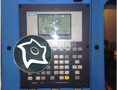 Токарный цикличный станок с ЧПУ Wagner WDE 400x1500