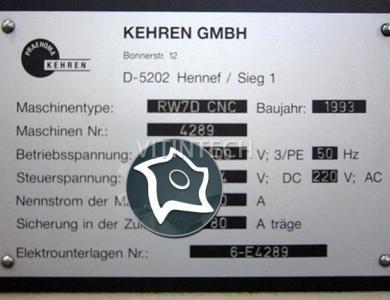 Плоскошлифовальный станок горизонтальный Kehren RW7D
