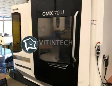 5-осевой фрезерный обрабатывающий центр с ЧПУ DMG CMX 70 U