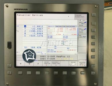5-осевой обрабатывающий центр HSC с ЧПУ EXERON HSC-MP 7/5