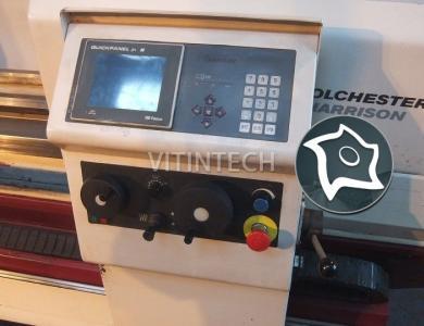 Цикличный токарный станок Harrison Alpha 550T с сенсорным экраном