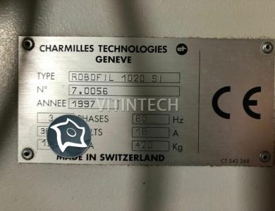 Электроэрозионный проволочно-вырезной станок CHARMILLES Robofil 1020 SI
