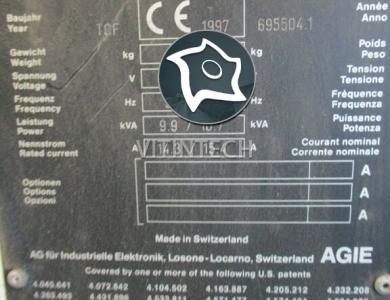 Электроэрозионный проволочно-вырезной станок с ЧПУ AGIE AGIECUT 350 HSS