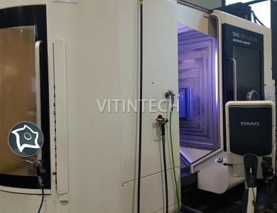 Горизонтально-фрезерный обрабатывающий центр с ЧПУ DMG MORI DMC 75 H
