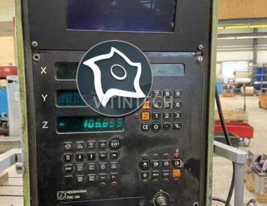 Горизонтально-расточной станок с ЧПУ Union BFT 90/5