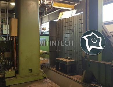 Горизонтально-расточной станок с ЧПУ WOTAN 130 CNC