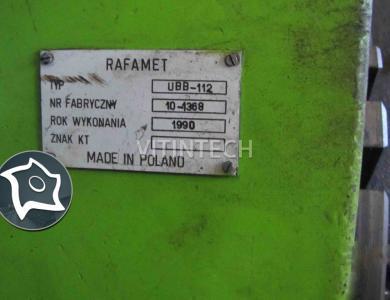 Колесотокарный станок Rafamet UBB 112