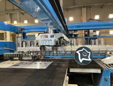 Комбинированная система лазерной резки / штамповки FINN POWER LP6 SWTVL