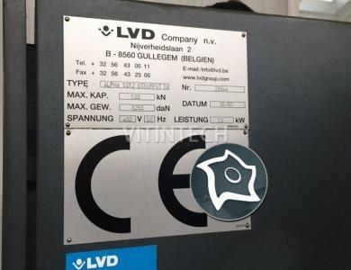 Координатно-пробивной пресс с ЧПУ LVD Alpha 1012 Strippit