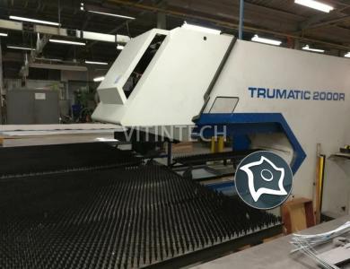 Координатно-пробивной пресс с ЧПУ TRUMPF TC 2000 R