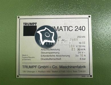 Координатно-пробивной пресс с ЧПУ TRUMPF TC 240 R