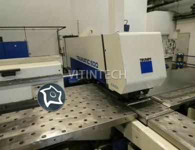 Координатно-пробивной пресс с ЧПУ TRUMPF Trumatic TC 500 R - 1600