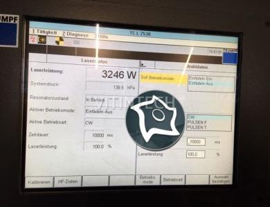 Лазерная резка с ЧПУ TRUMPF TC L 2530 3KW