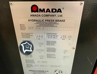 Листогибочный гидравлический пресс с ЧПУ AMADA PROMECAM HFP 220-3