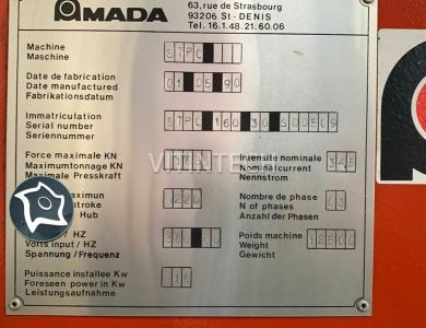 Листогибочный гидравлический пресс с ЧПУ AMADA PROMECAM STPC