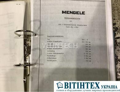 Листогибочный гидравлический пресс с ЧПУ Mengele C640-6 CNC