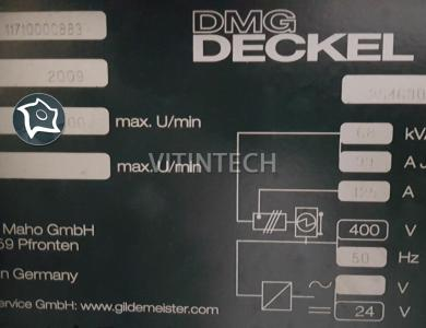 Обрабатывающий центр горизонтальный с ЧПУ DMG MORI DMC 65 H