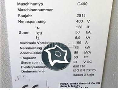 Токарно-фрезерный центр с ЧПУ INDEX G400 S-1/300