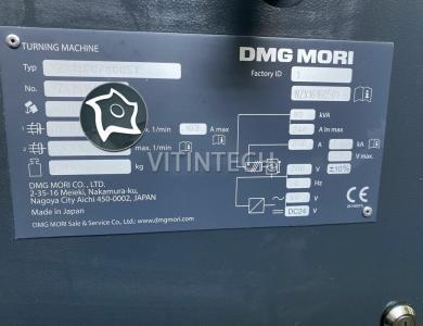 Токарно-фрезерный обрабатывающий центр c ЧПУ DMG MORI NZX 1500/800 SY