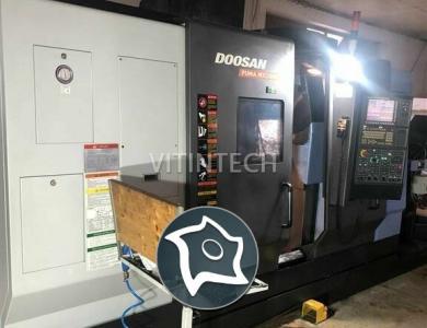 Токарно-фрезерный обрабатывающий центр c ЧПУ DOOSAN PUMA MX 2100 ST
