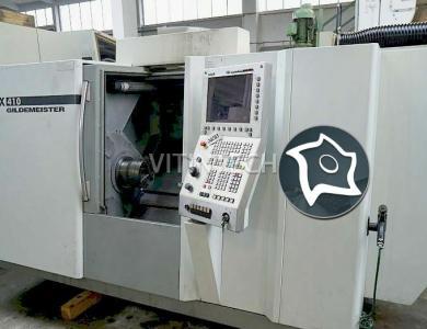 Токарно-фрезерный обрабатывающий центр c ЧПУ GILDEMEISTER CTX 410 V3