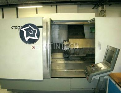 Токарно-фрезерный обрабатывающий центр c ЧПУ GILDEMEISTER CTX 620 Linear V3