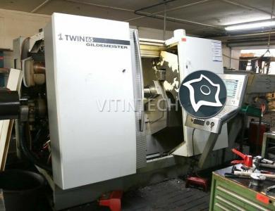 Токарно-фрезерный обрабатывающий центр c ЧПУ GILDEMEISTER Twin 65 Y