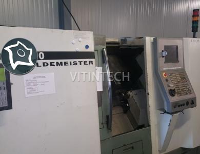 Токарно-фрезерный обрабатывающий центр с ЧПУ DMG GILDEMEISTER CTX 210 V4