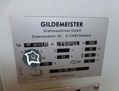 Токарно-фрезерный ОЦ DMG GILDEMEISTER MF Sprint 65
