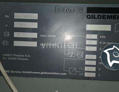 Токарно-фрезерный станок с ЧПУ DMG GILDEMEISTER CTX 210