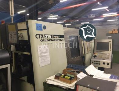 Токарно-фрезерный станок с ЧПУ DMG GILDEMEISTER CTX 320 LINEAR