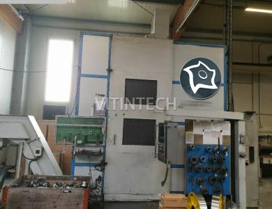 Токарно-карусельный станок с ЧПУ TOS-HULIN SKIQ 8 CNC