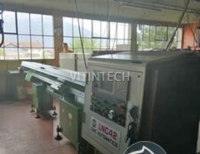 Токарный автомат продольного точения с ЧПУ LICO-AUTOMATICS LNC 42