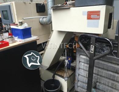 Токарный автомат с ЧПУ с податчиком прутка Gildemeister GDS 65