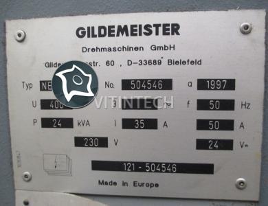 Токарный цикличный станок с ЧПУ DMG GILDEMEISTER NEF plus 500