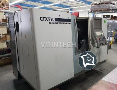 Токарный обрабатывающий центр с приводным инструментом GILDEMEISTER CTX 310 V3
