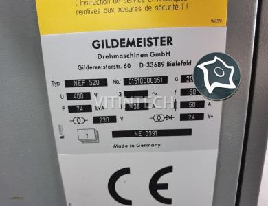 Токарный станок с ЧПУ GILDEMEISTER NEF 520