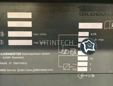 Токарный станок с ЧПУ Gildemeister NEF 600