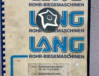 Трубогиб Lang EL-HY 15