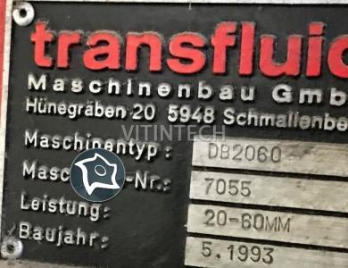 Трубогибочный станок TRANSFLUID DB 2060