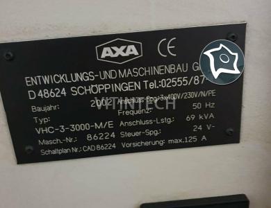 Универсально-фрезерный станок с ЧПУ AXA VHC 3 - 3000 M