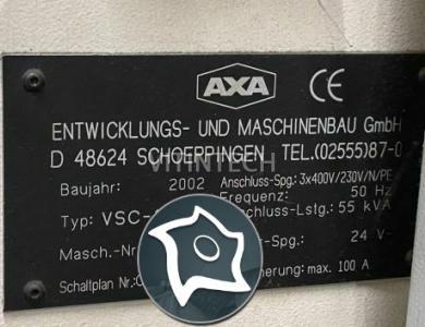Универсально-фрезерный станок с ЧПУ AXA VSC-1 M/E