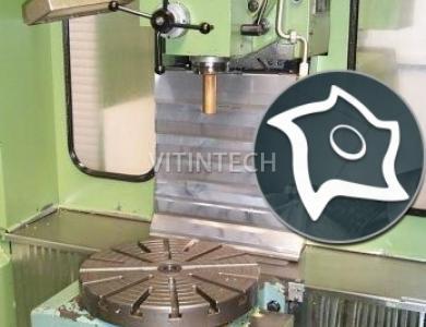Универсально-фрезерный станок с ЧПУ MIKRON WF 21 C