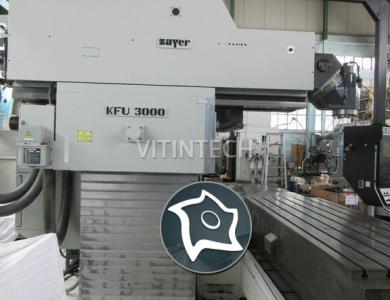 Универсально-фрезерный станок с ЧПУ ZAYER KFU 3000