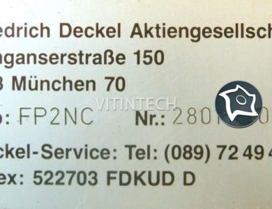 Универсальный фрезерный станок с ЧПУ Deckel FP 2 NC