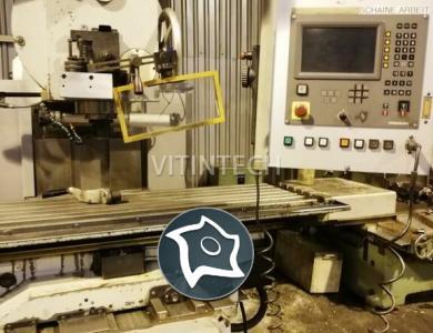 Универсальный фрезерный станок с ЧПУ UNITECH FSS 400 CNC