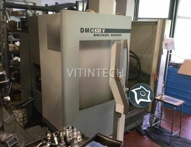 Вертикально-фрезерный обрабатывающий центр с ЧПУ DECKEL MAHO DMC 635 V