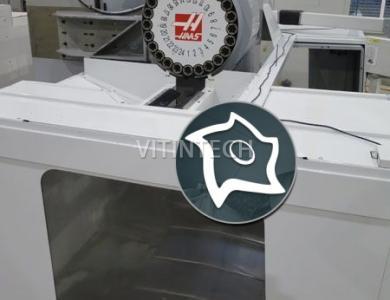Вертикально-фрезерный обрабатывающий центр с ЧПУ HAAS VF-8D/40 HE