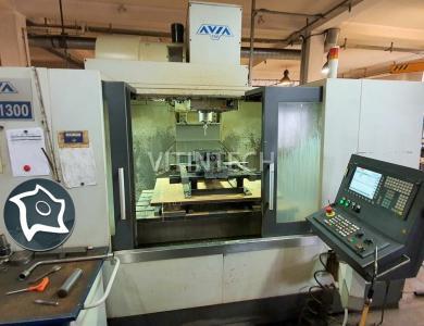 Вертикально-фрезерный станок с ЧПУ AVIA VMC 1300